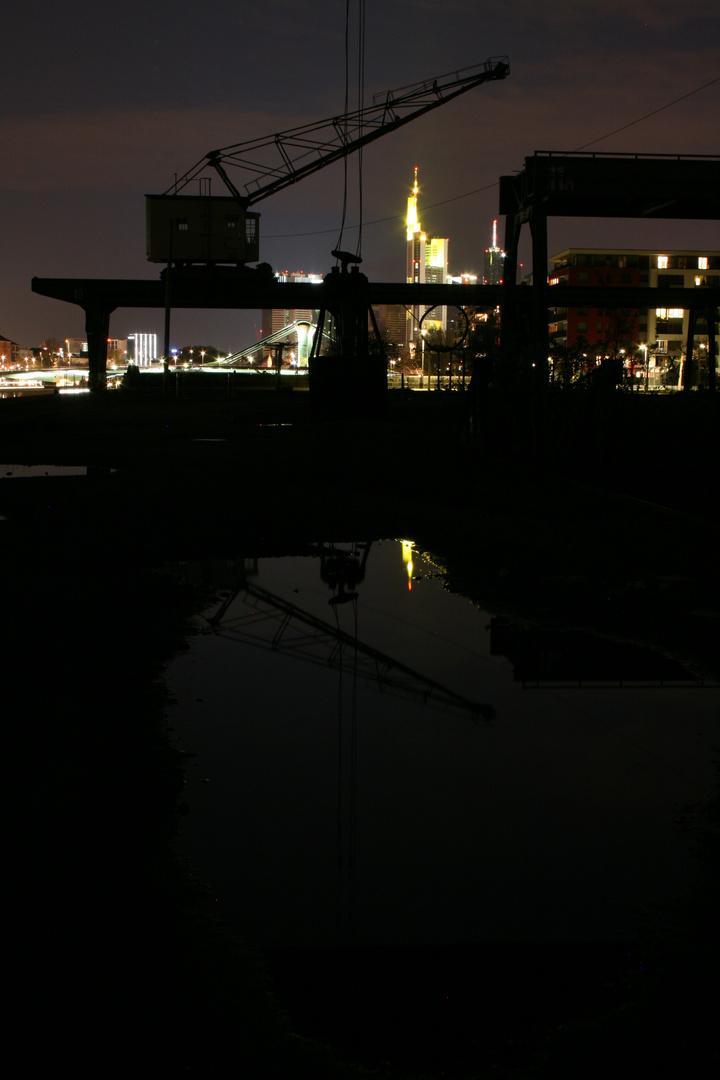 stiller Osthafen