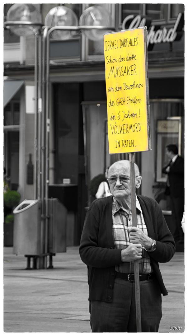 Stiller Protest!