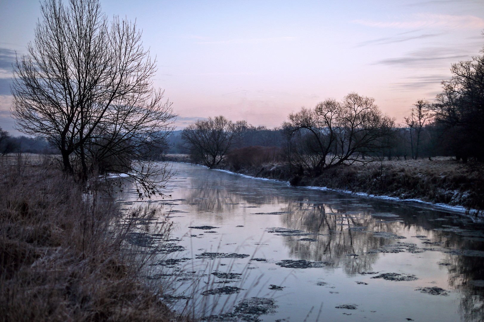 Stiller Wintermorgen