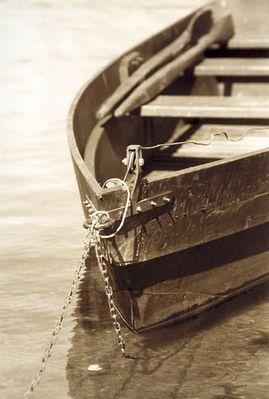 Stilles Ruderboot