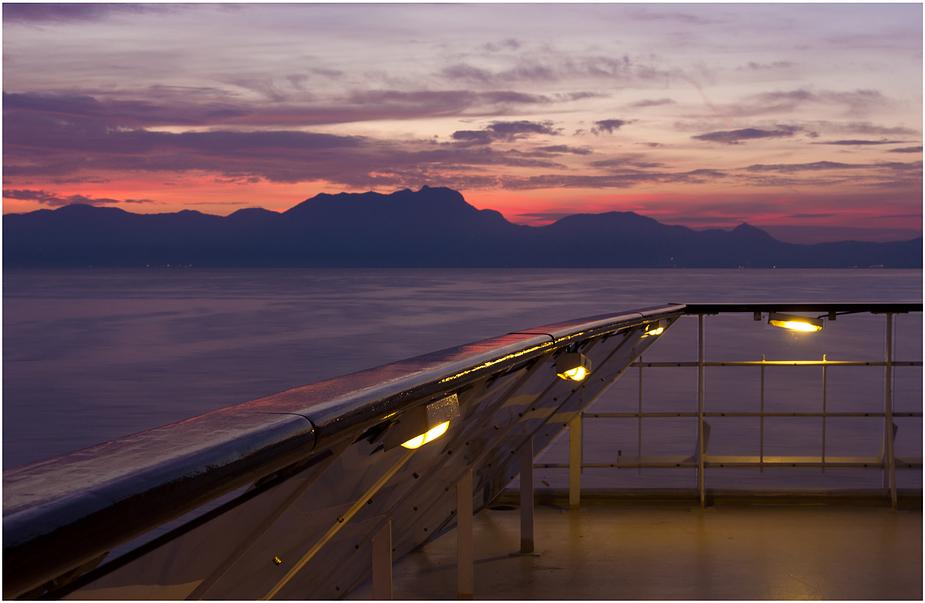 Stilles weites Meer
