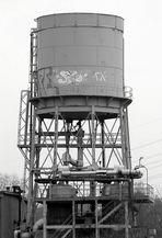 Stillgelegter Wasserturm ...