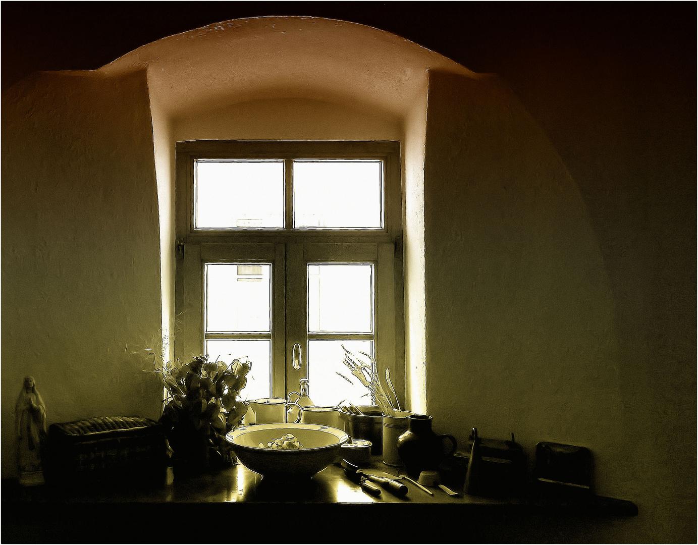 Stillleben an Omas Fenster