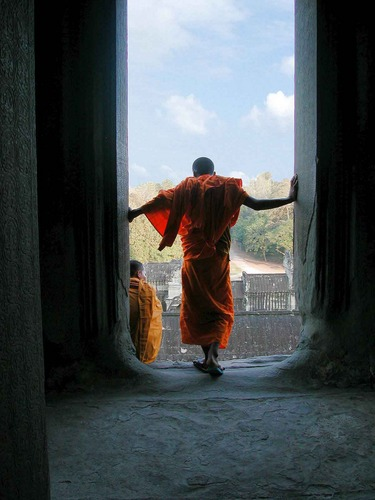 Stimmung in Angkor Wat