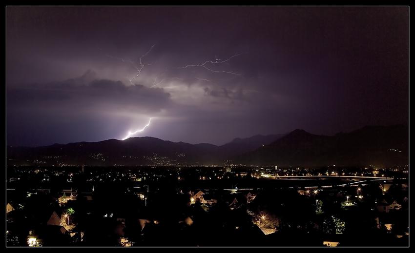 Stimmung in der Gewitternacht