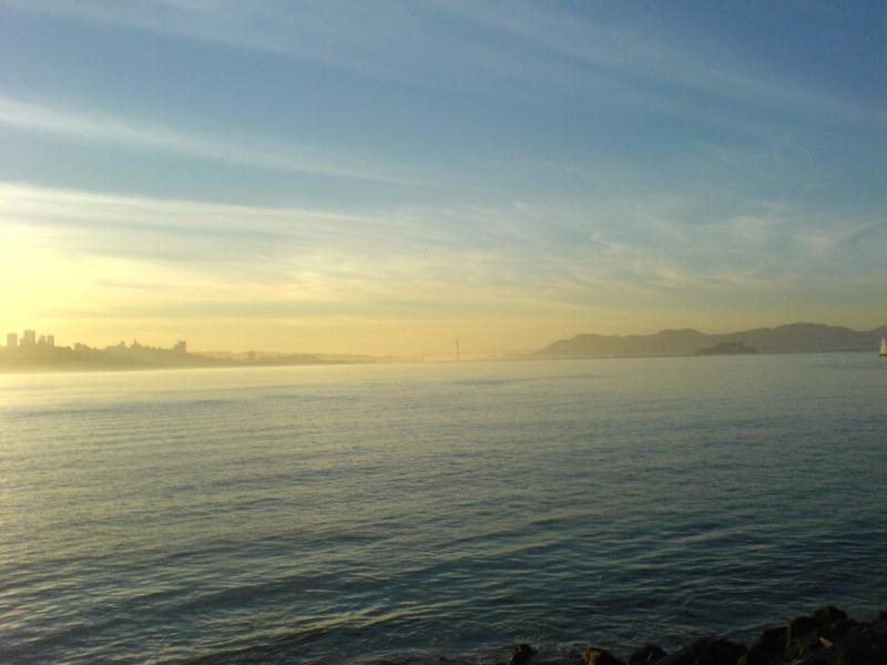 Stimmungsaufnahme 3. von 4 Weiterführung der San Francisco Skyline