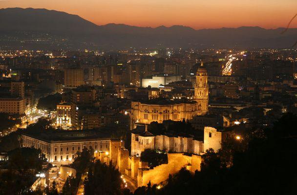 Stimmungsvolles Malaga