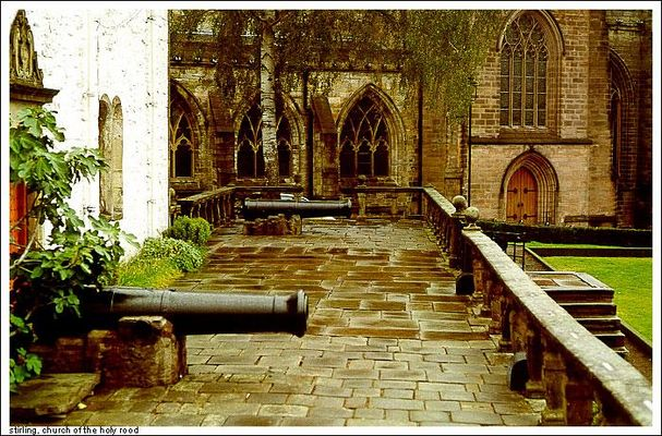 Stirling - Church of the holy rod :)