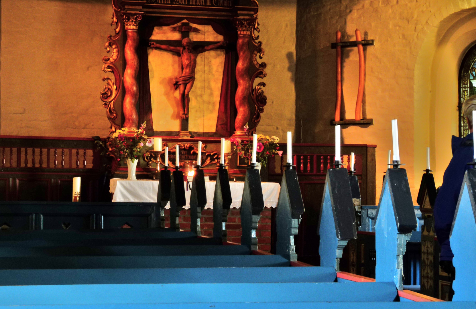"""St.Johannis""Halligkirche auf Hooge 1"