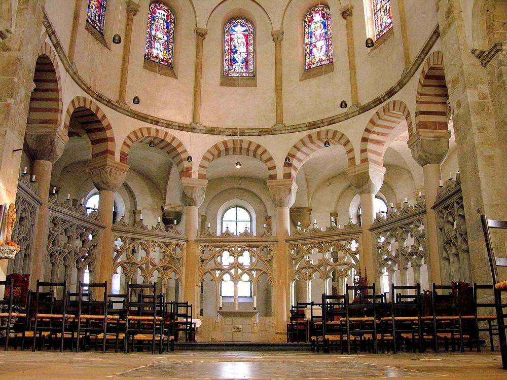 St.Maria im Kapitol zu Köln - Ansicht der Ostkonche