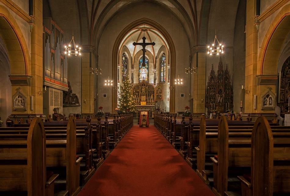 St.Marien Kirche Bad Homburg Foto & Bild   deutschland