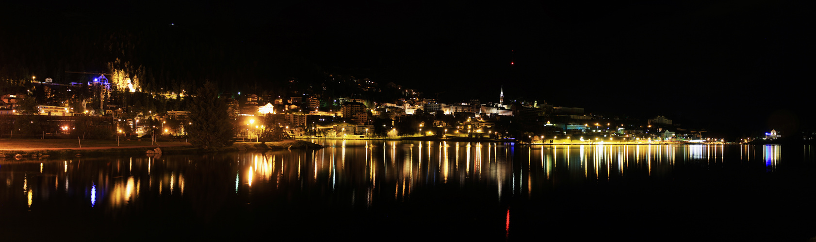 St.Moritz by night