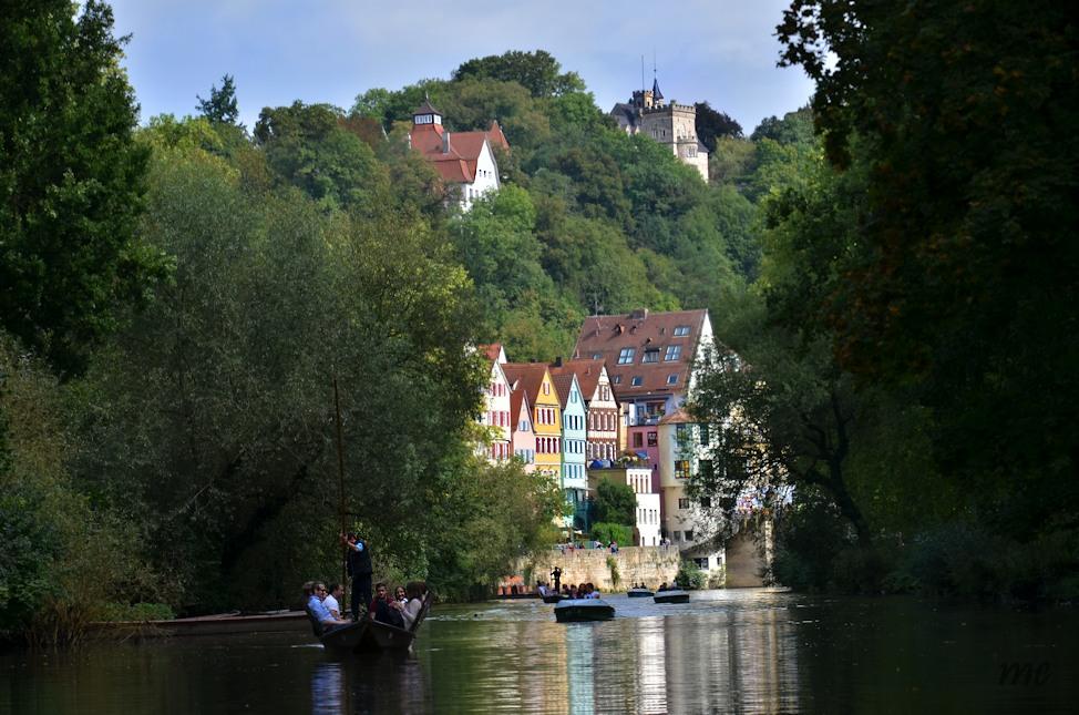 Stocherkahnfahrt auf dem Neckar...