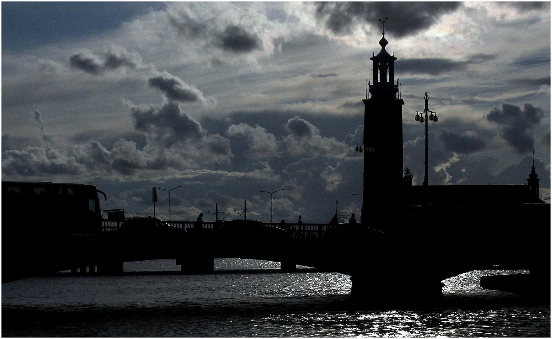 Stockholm am Abend **
