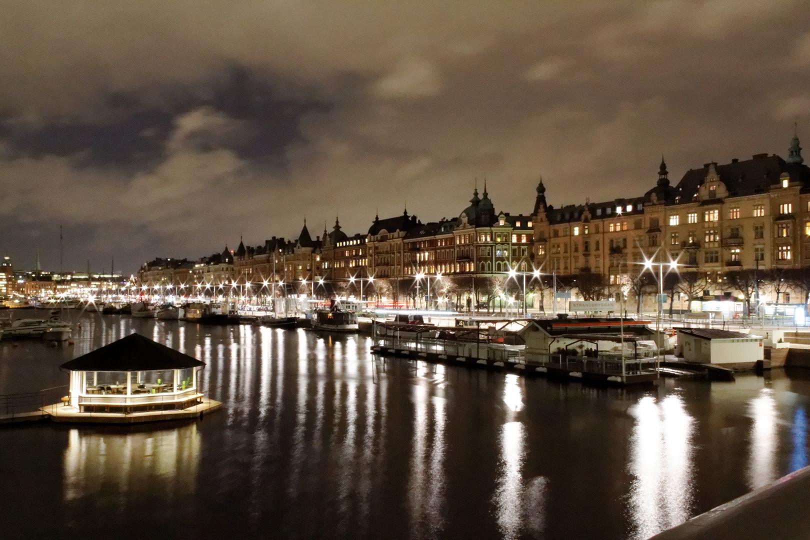 Stockholm - Blick Djurgardsbron Richtung Östermalm