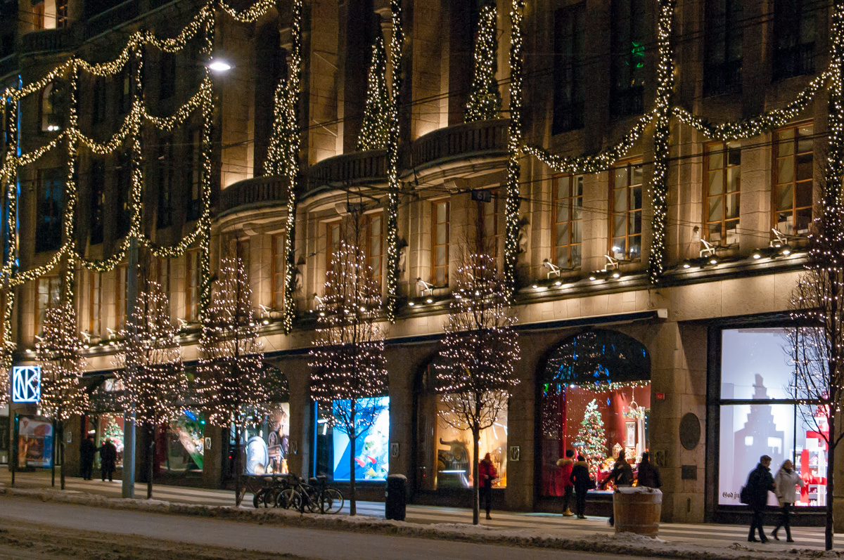 Stockholm im Advent - NK Kaufhaus