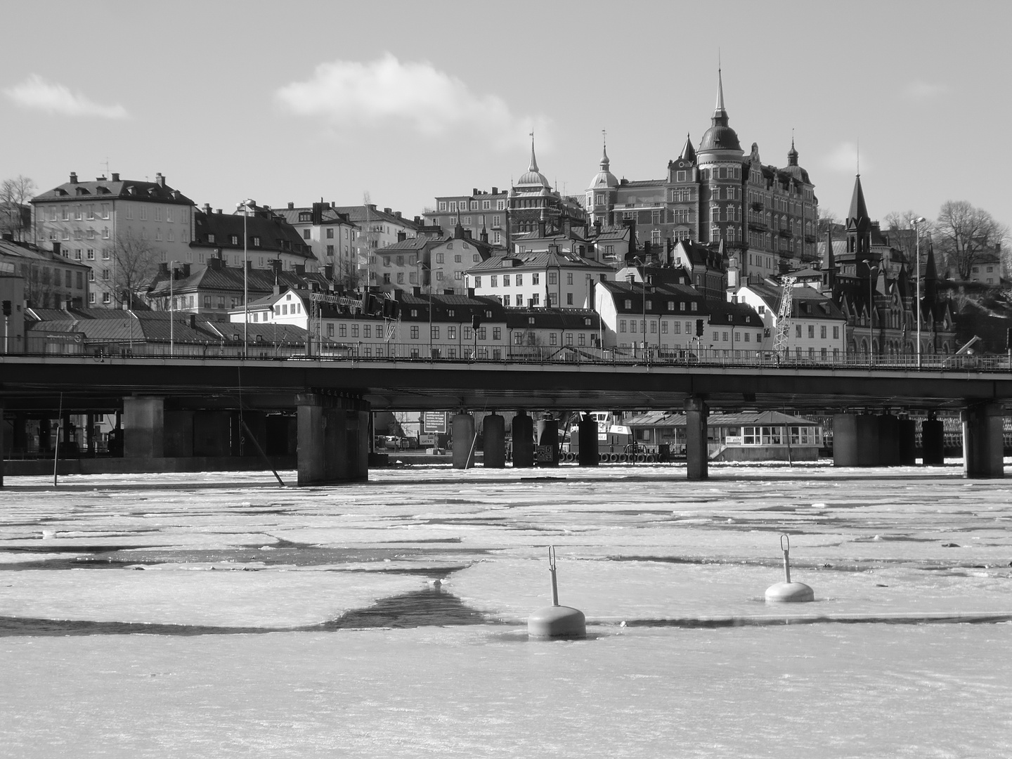 Stockholm in the winter
