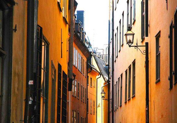 Stockholm - mitt i gamla stan...