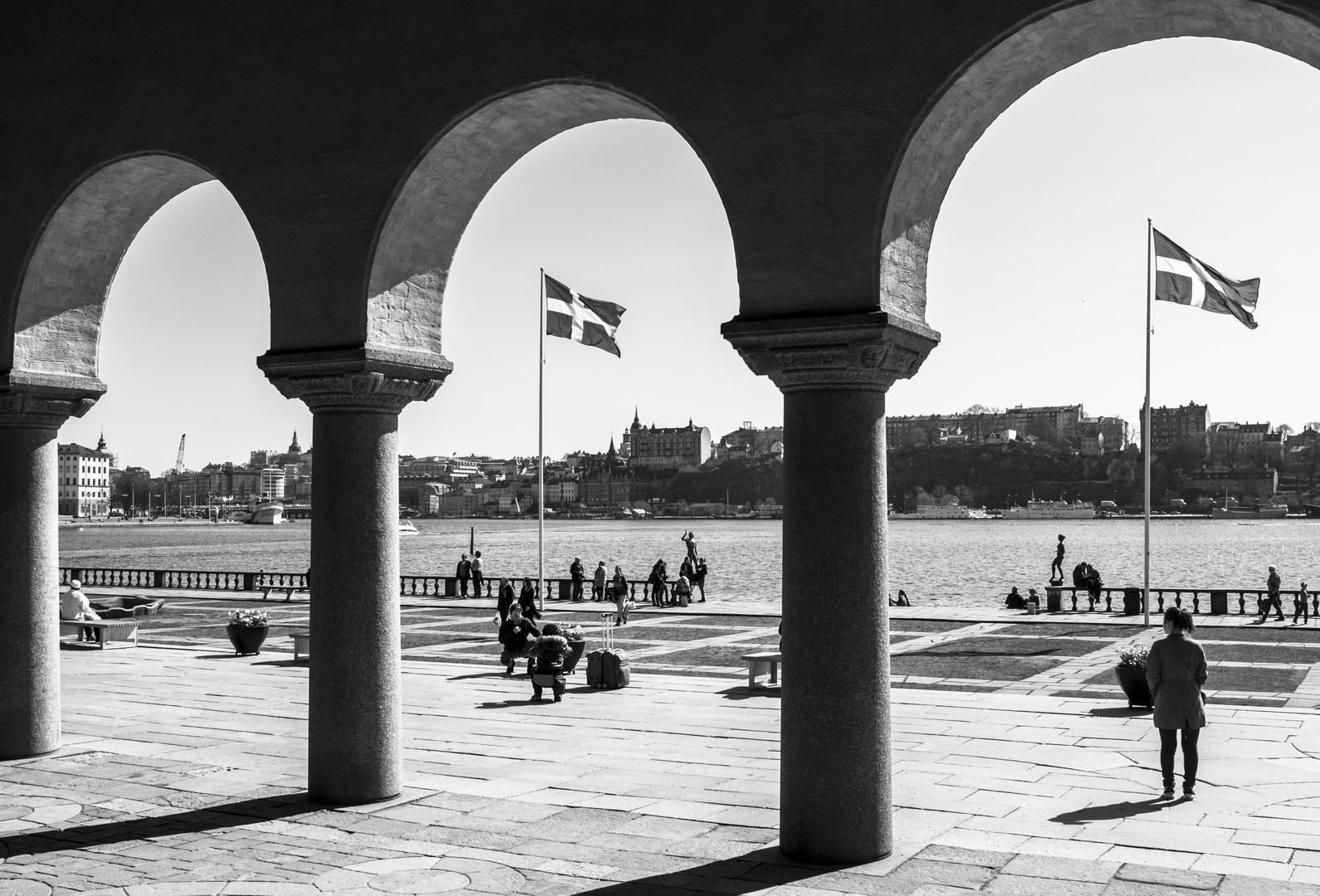 Stockholm Schwarz weis