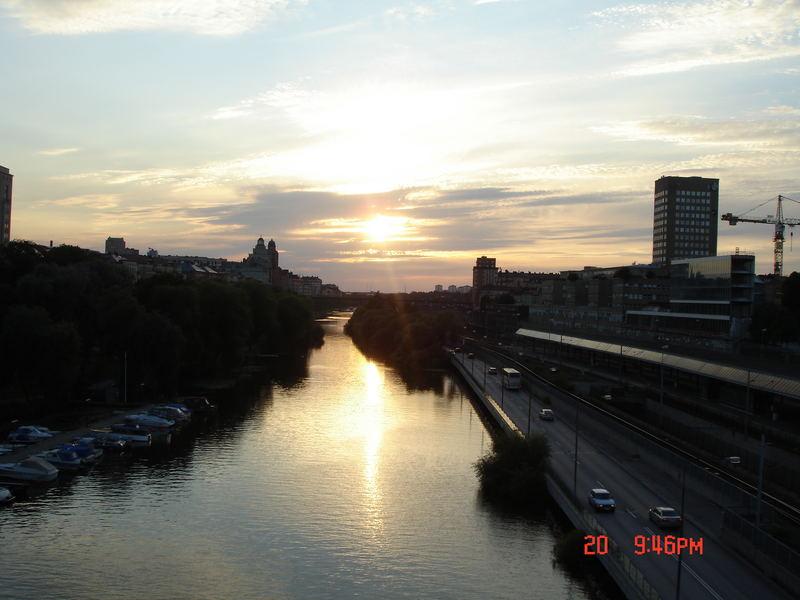 Stockholm - sunset