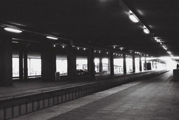 Stockholm Untergrund. Station Vällingby.