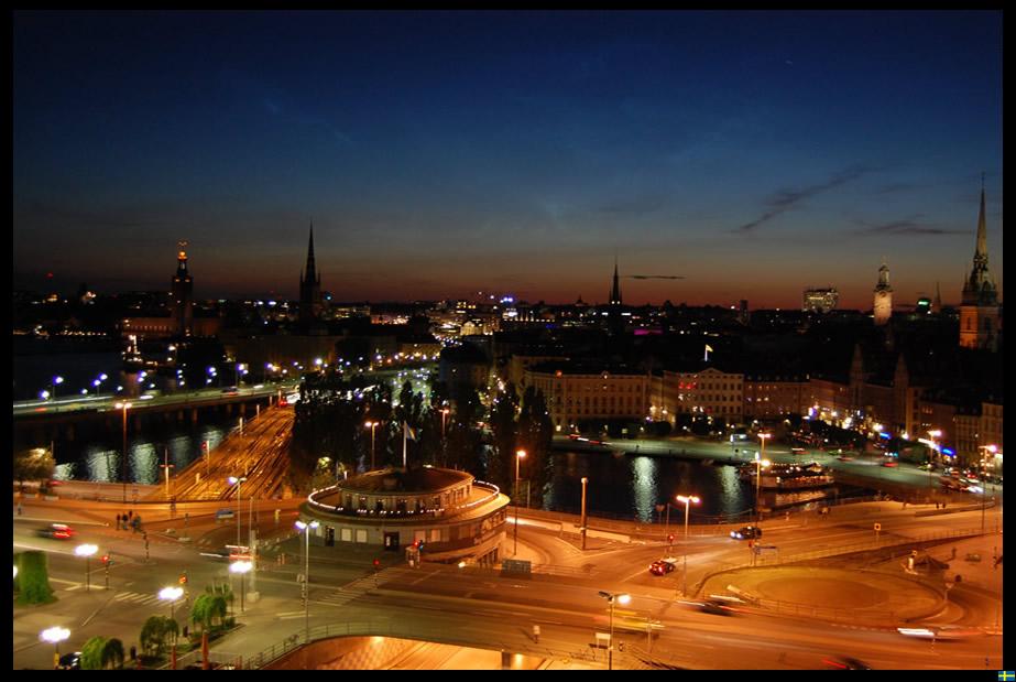 Stockholm vom Katarinahissen