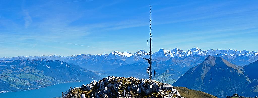 Stockhorn 2190m ü.M.