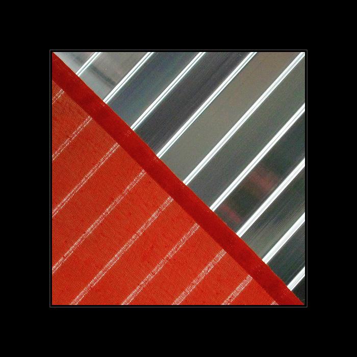 Stoff-Quadrat I