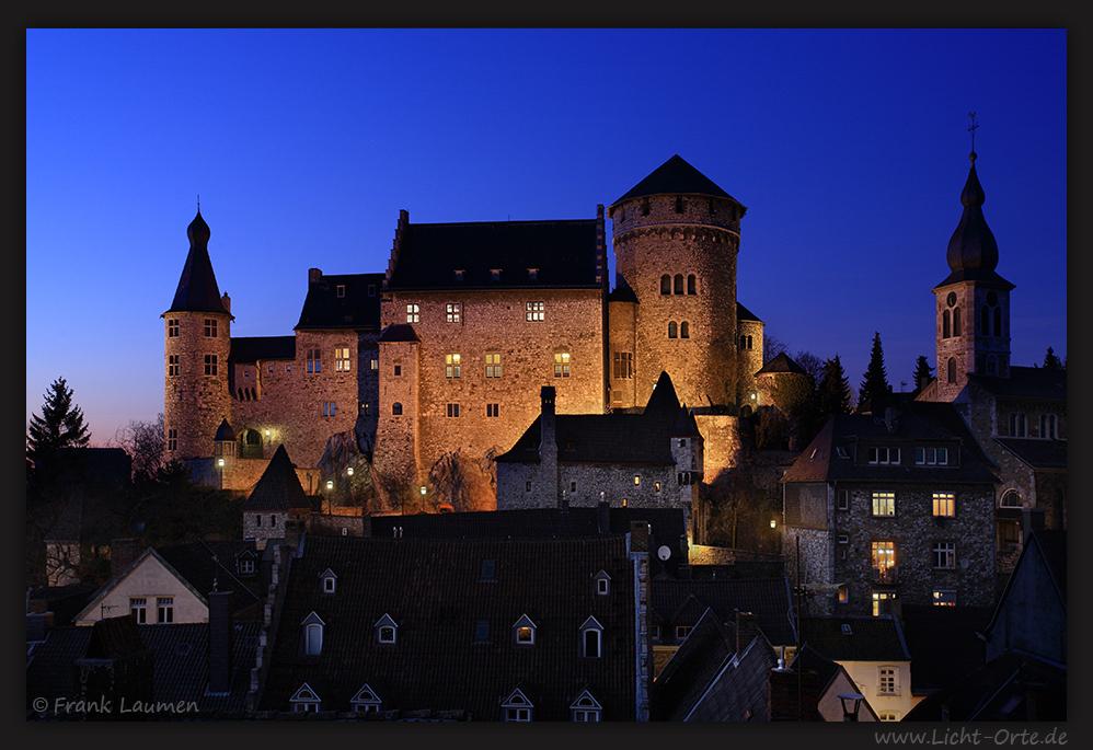 Stolberg - Altstadt mit Burg