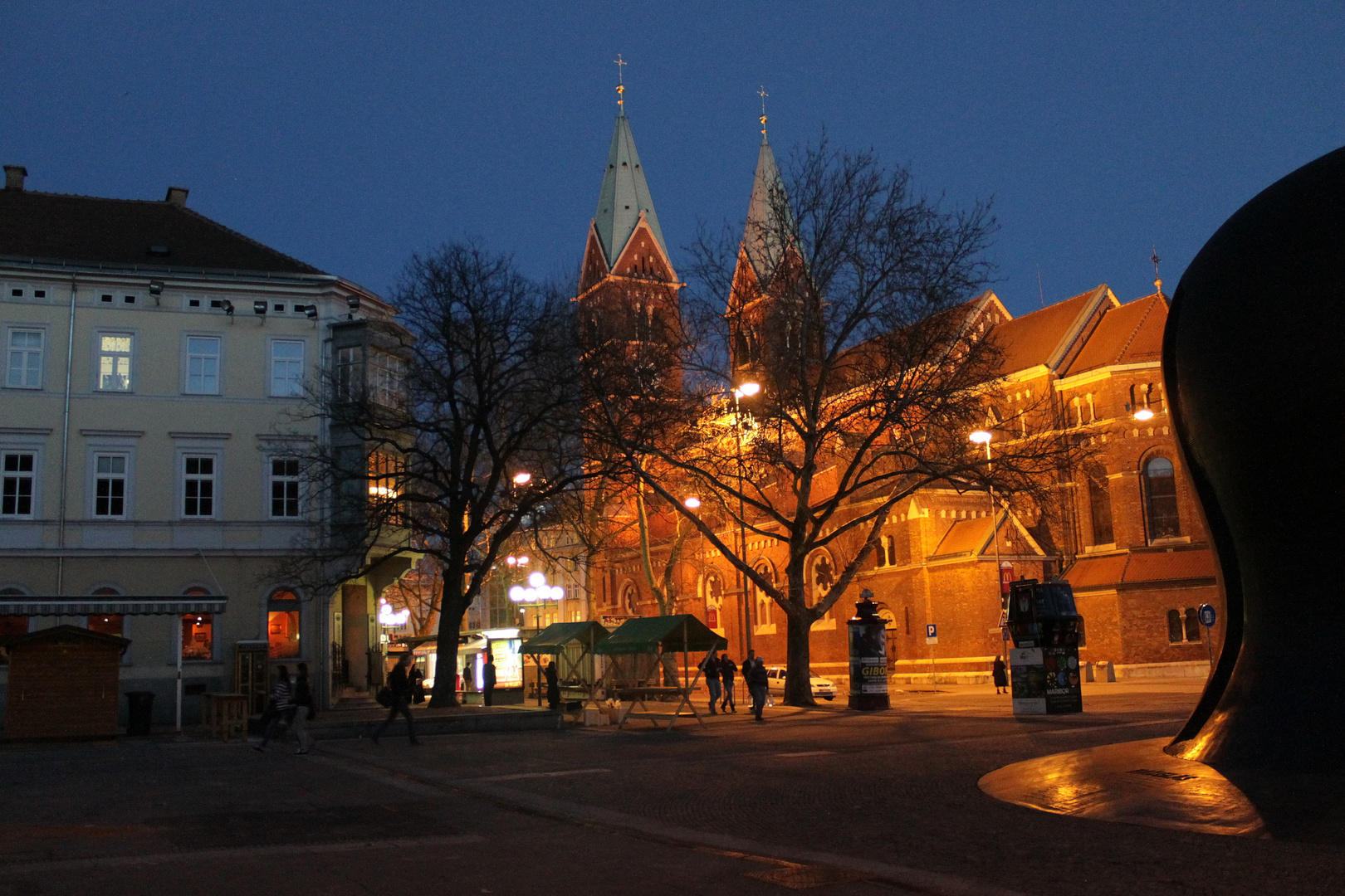 Stolnica by night II