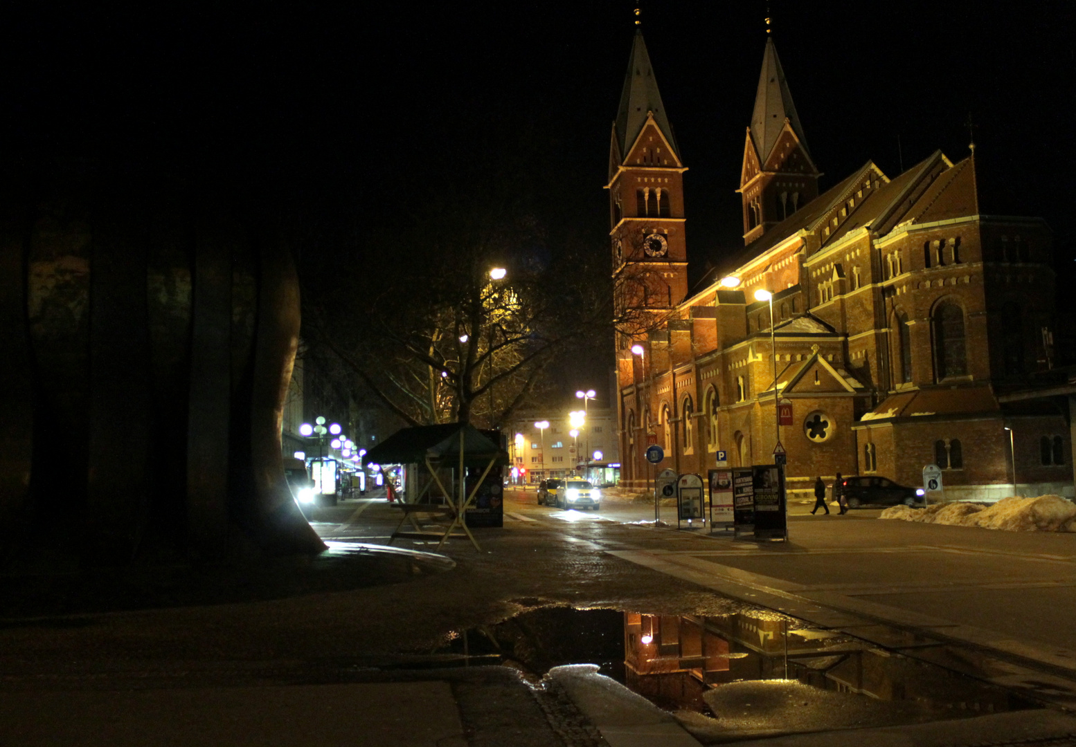 Stolnica by night IV