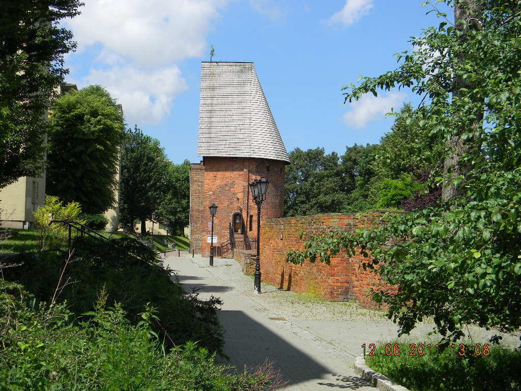 Stolp in Pommern. Polen.