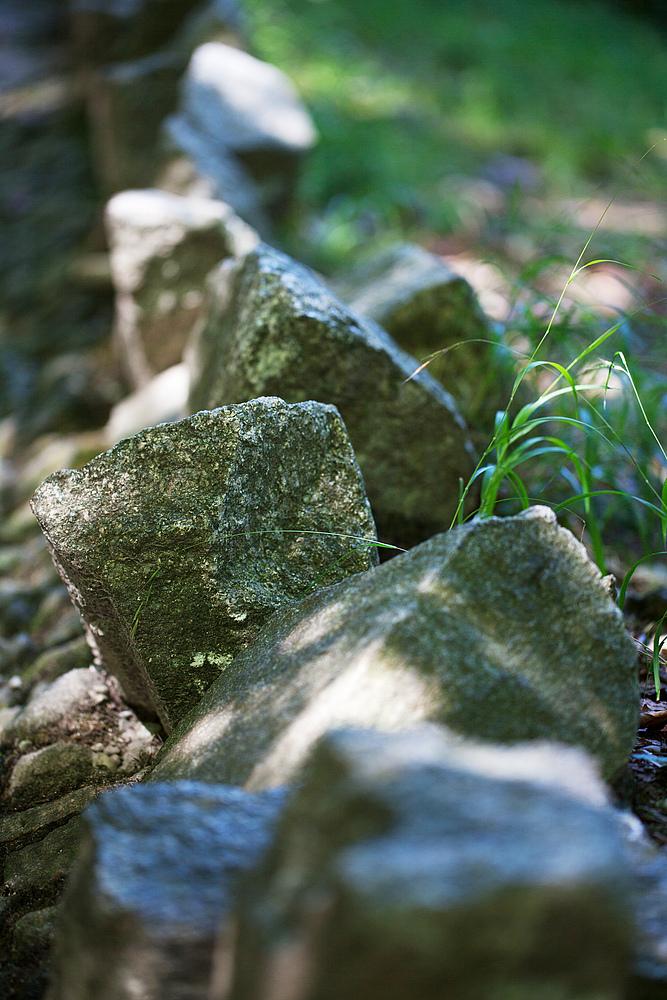 stolpern über'n spitzen Stein