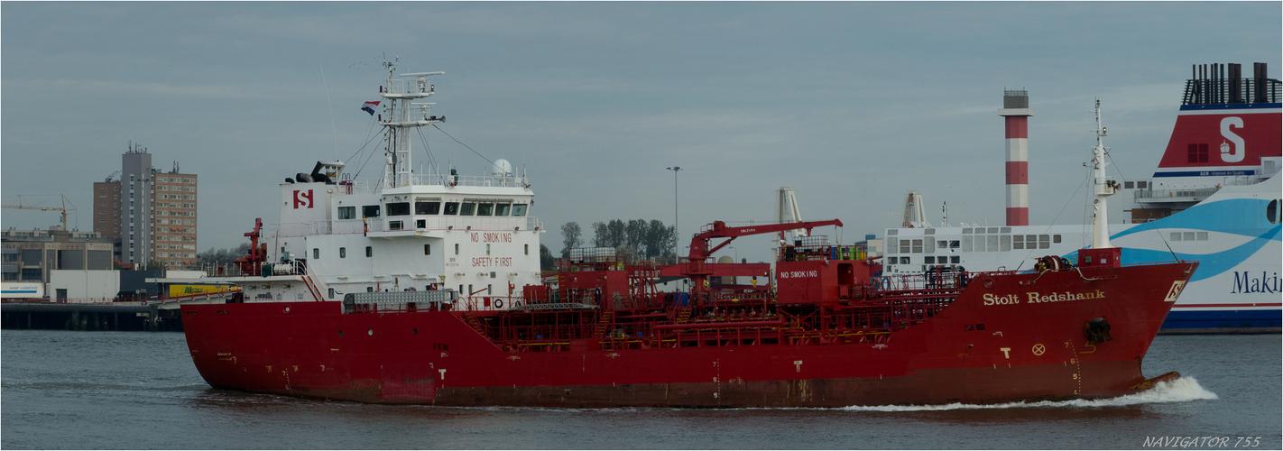 STOLT REDHANKS, Oil / Chemical Tanker / Nieuwe Waterweg - Rotterdam
