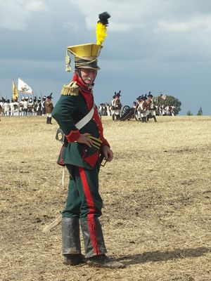 Stolzer Soldat