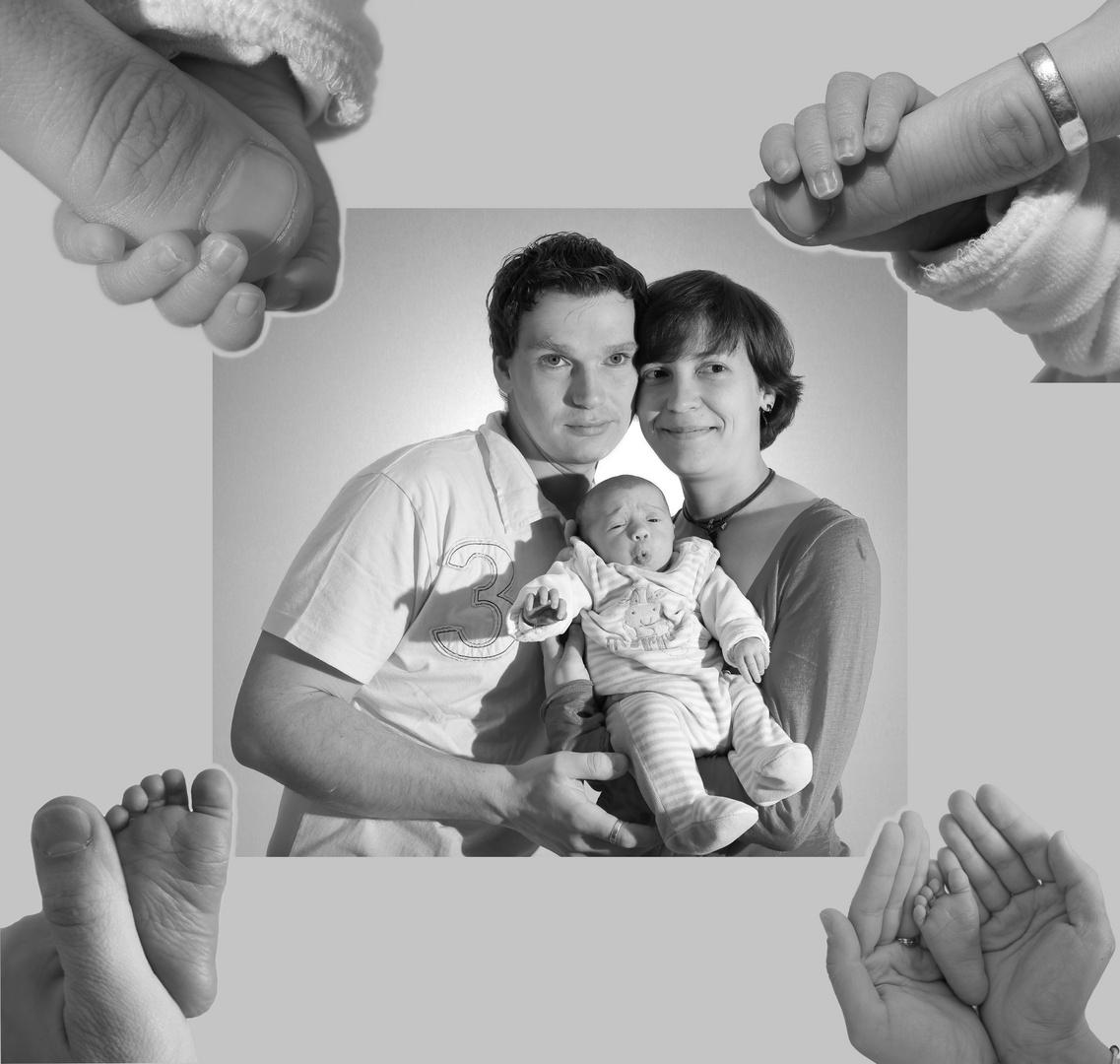 ......stolzes Familienglück.......