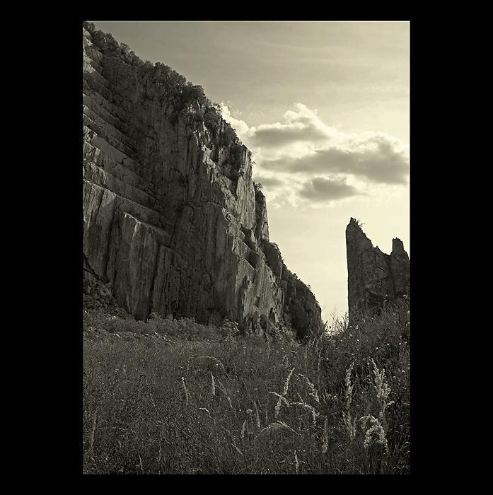 Stone-pit