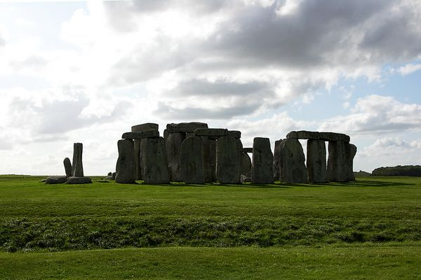 Stonehenge am 29.08.2009