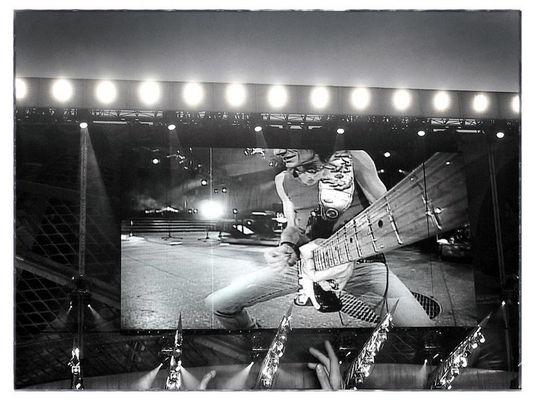 Stones 2003 / Guitar-Cam Ron Wood