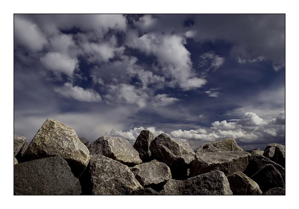 Stones against heaven