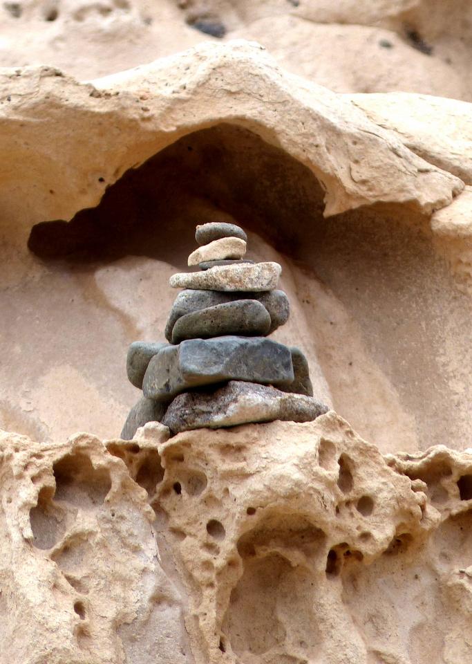 ...stones...