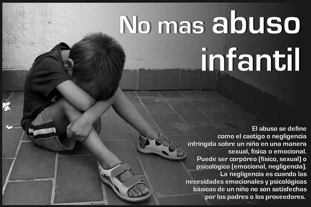 Stop al abuso infantil
