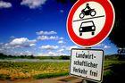 Stop - Nur für die Landwirtschaft