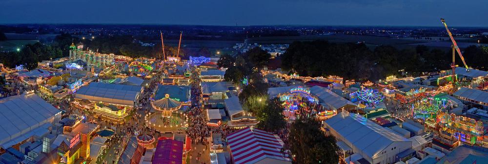 Stoppelmarkt 2012 bei nacht