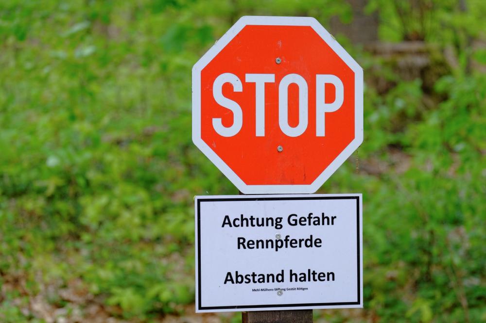 Stoppstraße der besonderen Art