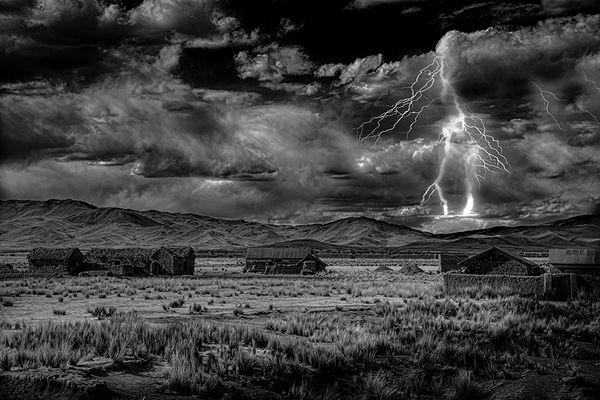 Storm at La Raya