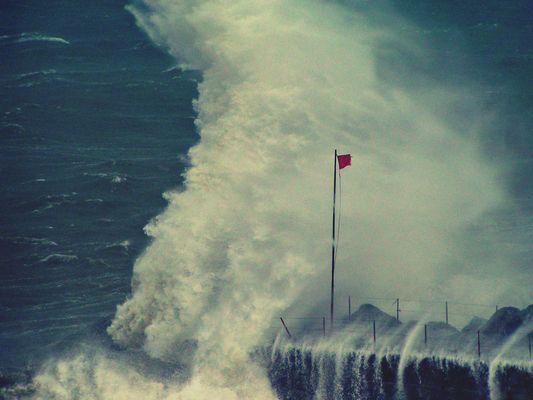 Storm in Genoa