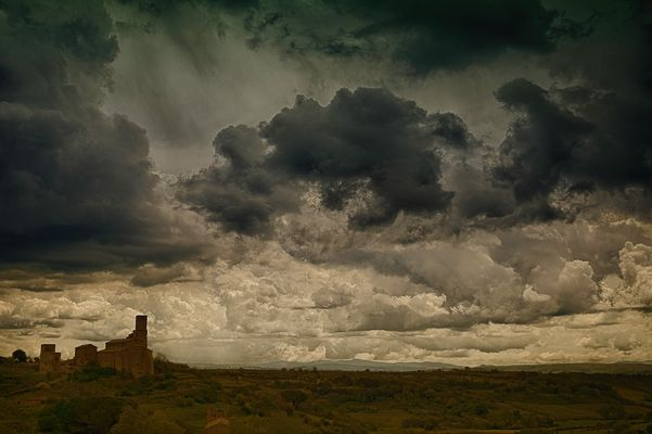 Storm in Tuscania (VT)