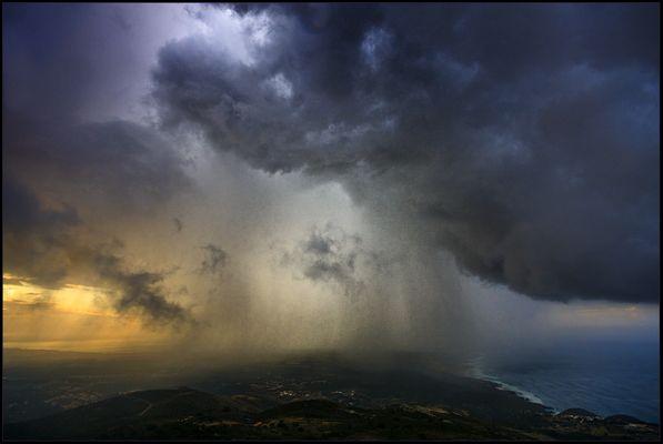 Storm over Cascais