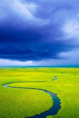 Storm Over the Okavango Delta